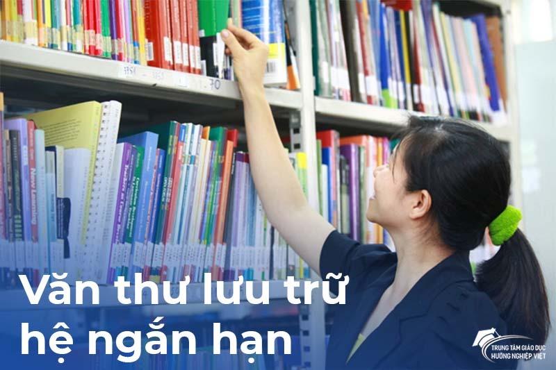 Tuyển sinh hệ ngắn hạn ngành Văn Thư Lưu Trữ
