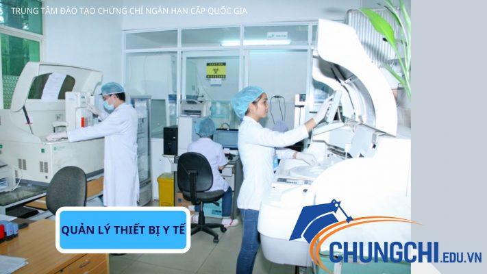 Học quản lý trang thiết bị y tế ngắn hạn