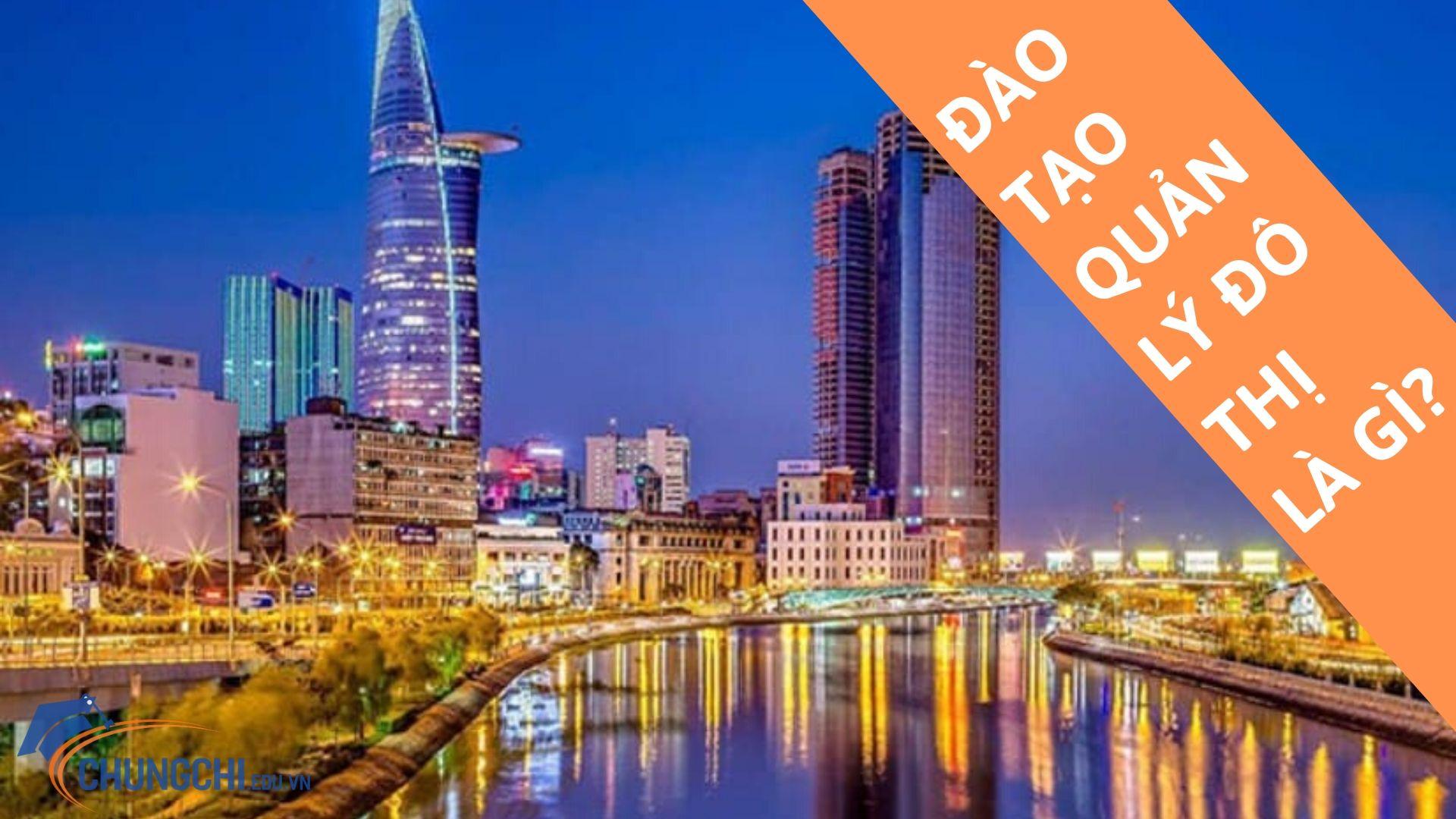 Đào tạo quản lý đô thị 2020