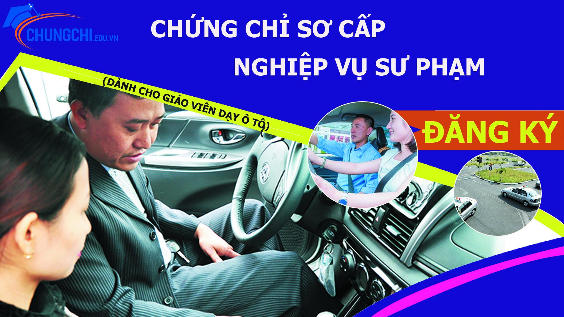 Học chứng chỉ Giáo viên dạy lái xe ô tô
