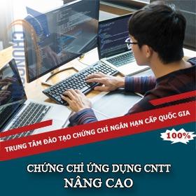 CHỨNG CHỈ ỨNG DỤNG CNTT NÂNG CAO TPHCM
