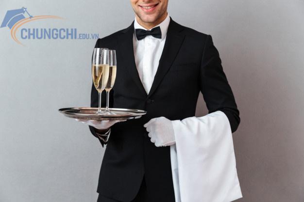 chứng chỉ sơ cấp nghiệp vụ bàn khách sạn - nhà hàng