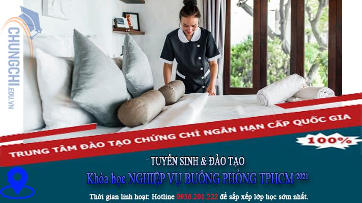 Khóa học NGHIỆP VỤ BUỒNG PHÒNG KHACH SAN TPHCM 2021