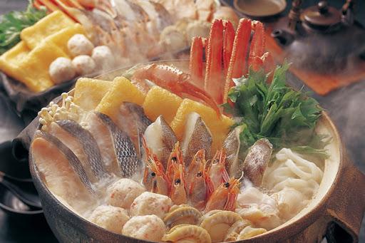 Lẩu Chanko nabe.Unagi - Nhật Bản