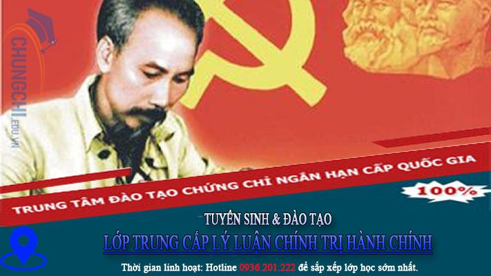 TUYỂN SINH LỚP TRUNg cấp lý luận chính trị HÀNH CHÍNH 2020